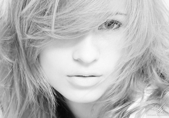 Черно-белая эротика (47 фото)