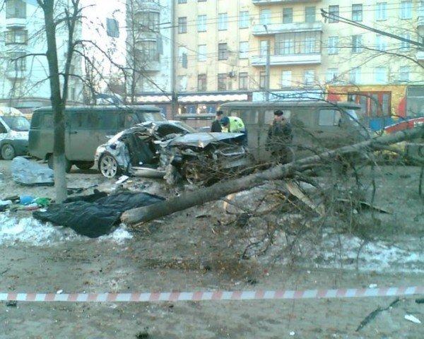 Страшная авария в Челябинске (12 фото + видео)