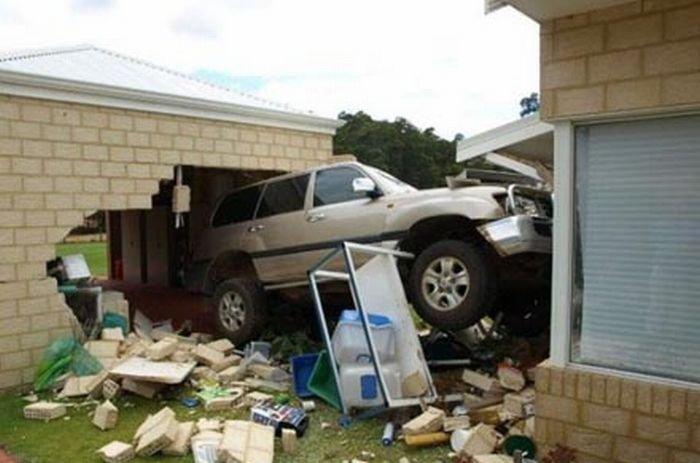 Тюнинг гаража (5 фото)
