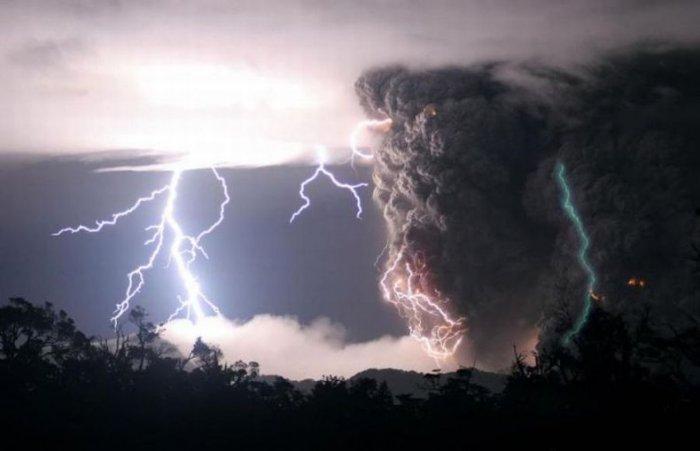 Гроза в Чили (7 фото)