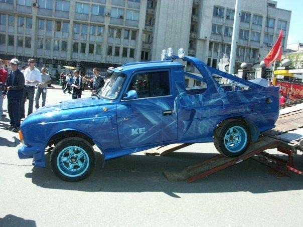 Тюнинг российских автомобилей (18 фото)