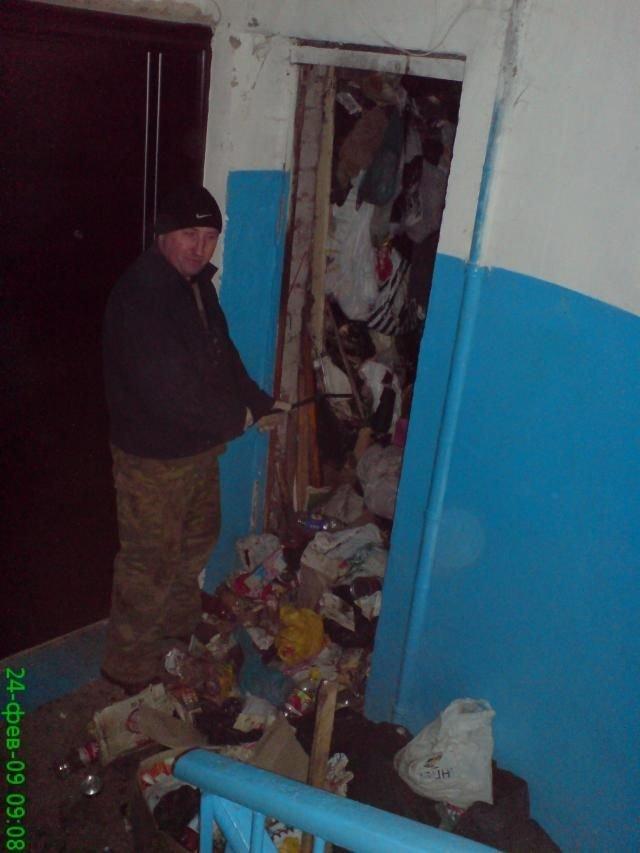 Квартира-помойка (5 фото)