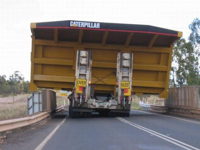Угадайте, что перевозит грузовик? (6 фото)