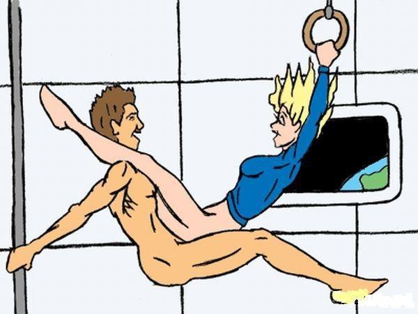 Как заниматься сексом в космосе (14 фото)