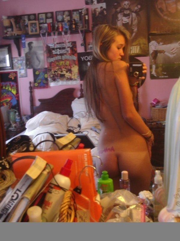 Большая подборка частных фотографий девушек (76 фото)