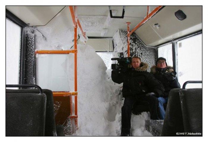 Автобусы в Норильске (17 фото)