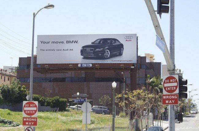 Audi против BMW (7 фото)