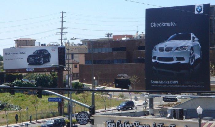 Audi ������ BMW (7 ����)