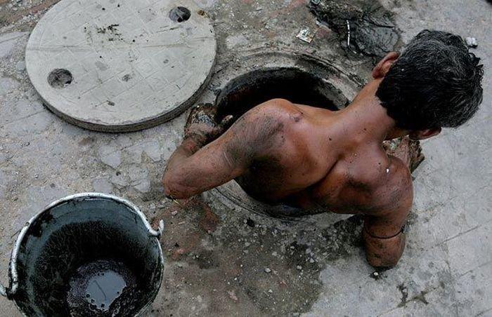 Чистильщик канализации (7 фото)