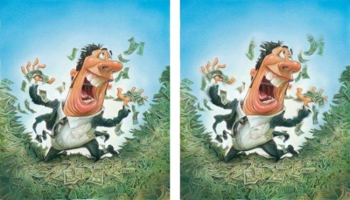 Подборка прикольных каррикатур (72 фото)