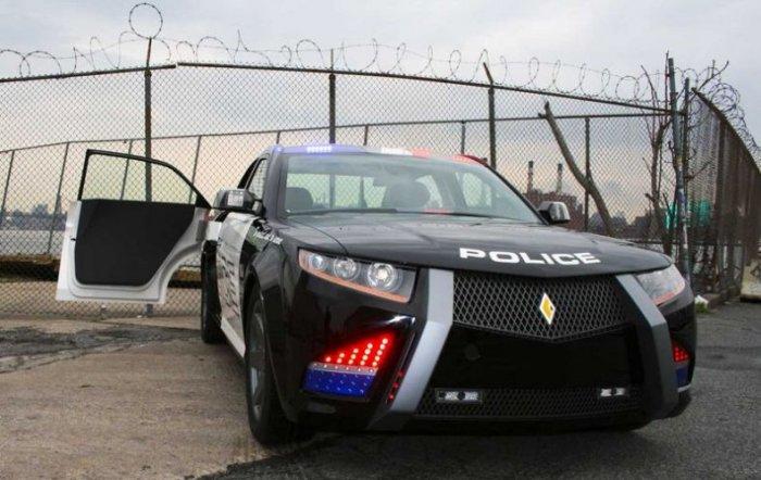 Новый полицейский автомобиль (36 фото)