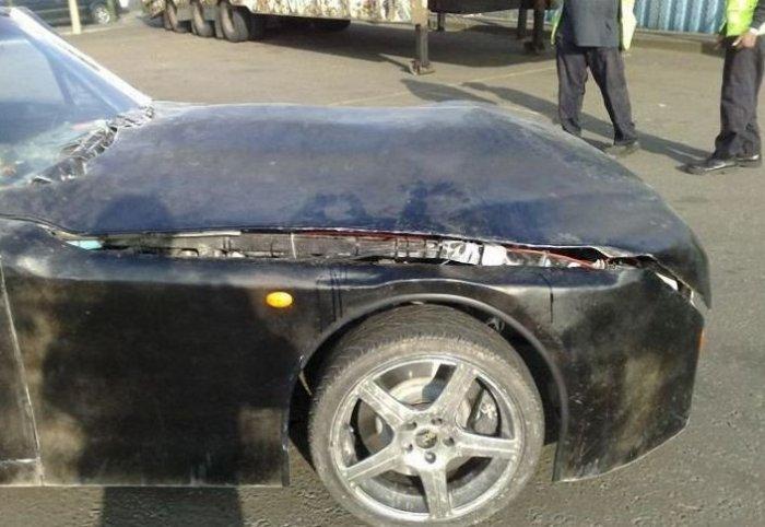 Самодельный авто (12 фото)