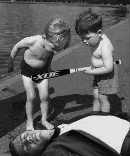 Детишки дурачатся (38 фото)