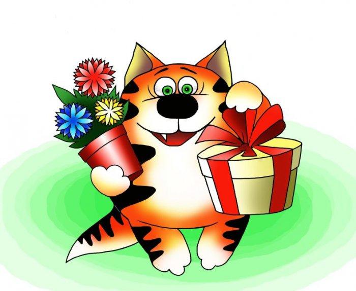 Прикольные рисунки котов (20 фото)