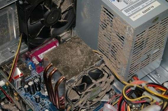 Пыльные компьютеры (31 фото)