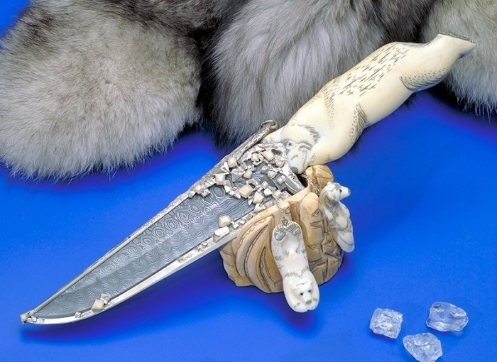 Охотничьи ножи ручной работы (16 фото)