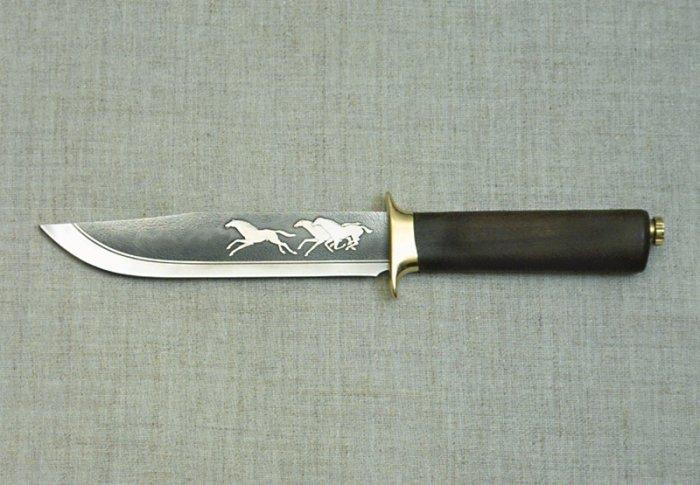 Охотничьи ножи ручной работы (16 фото) + ссылка на продолжение коллекции фотографий