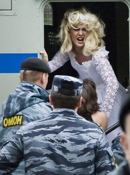 В Москве прошел гей-парад (18 фото)