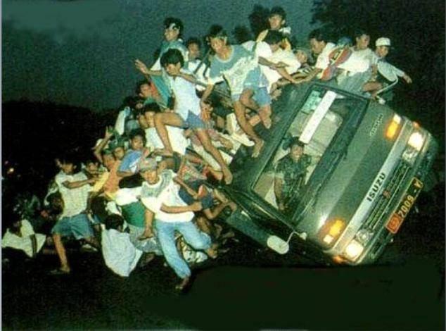 Горе-водители (25 фото)