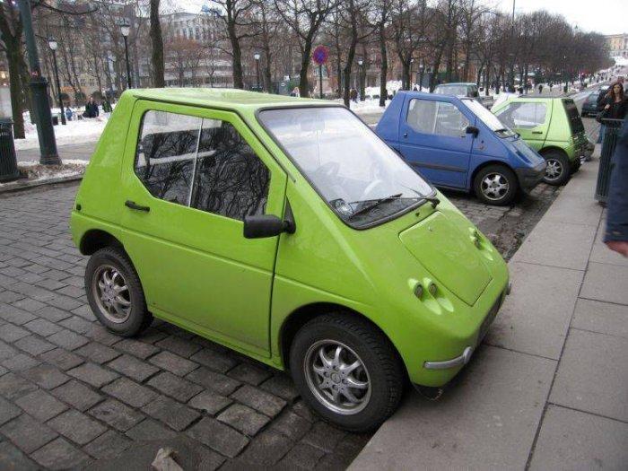 Мини-автомобили (36 фото)