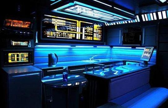 Квартира фаната сериала Звездный путь (10 фото)
