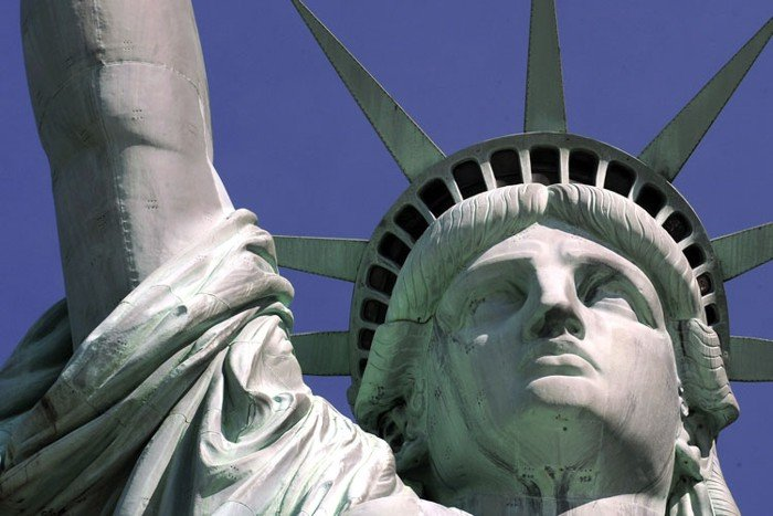 Статуя свободы. Вид изнутри (8 фото)