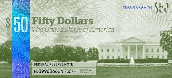 Новый дизайн доллара (13 фото)