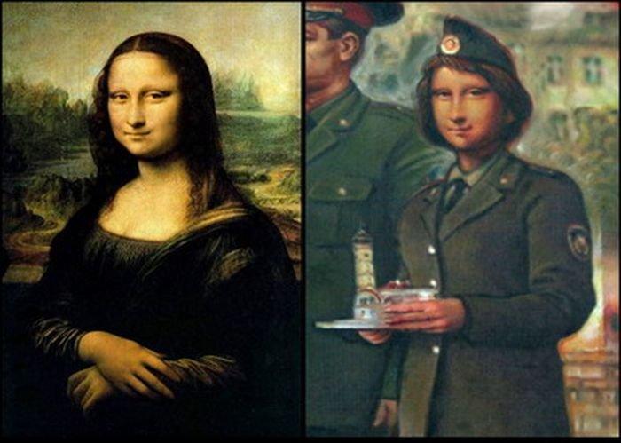 Современная Мона Лиза (3 фото)