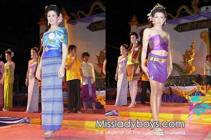 Конкурс красоты среди трансвеститов Таиланда (38 фото)