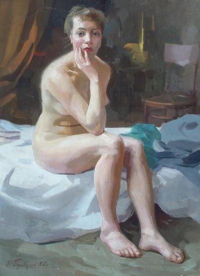 Эротика в живописи русских художников (31 фото)