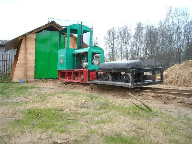 Самодельная железная дорога (7 фото)