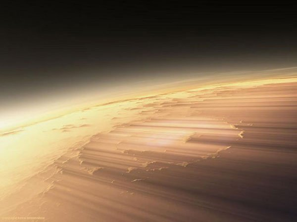 Утро на Марсе (14 фото)