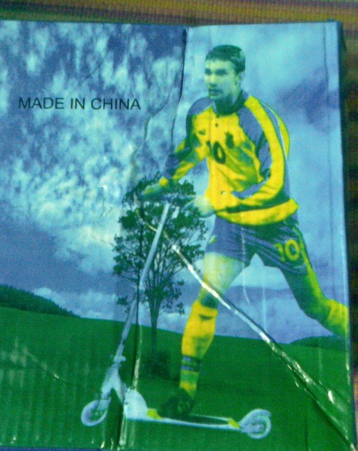 Шевченко стал рекламировать китайские самокаты (3 фото)