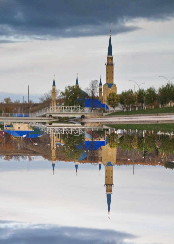 Отражения в воде (20 фото)