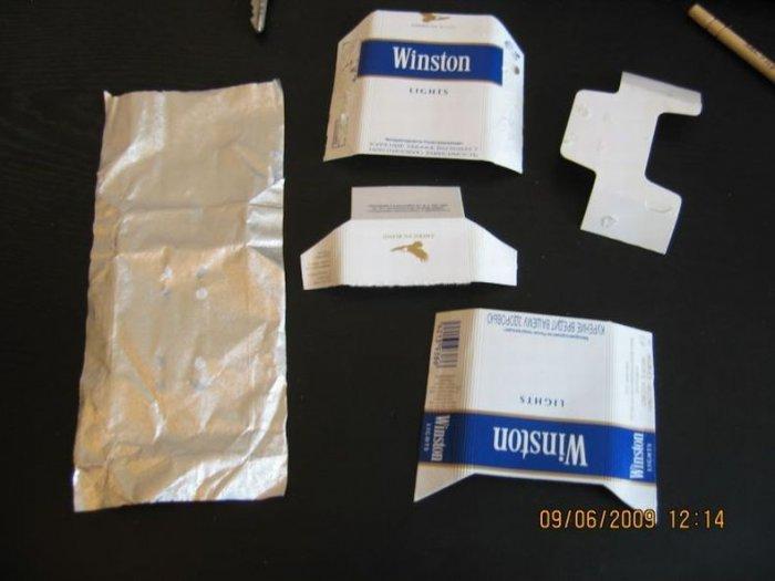 Что можно сделать из пачки сигарет (11 фото)