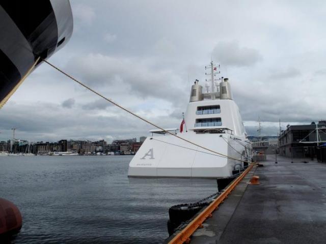 Крутая яхта (6 фото)