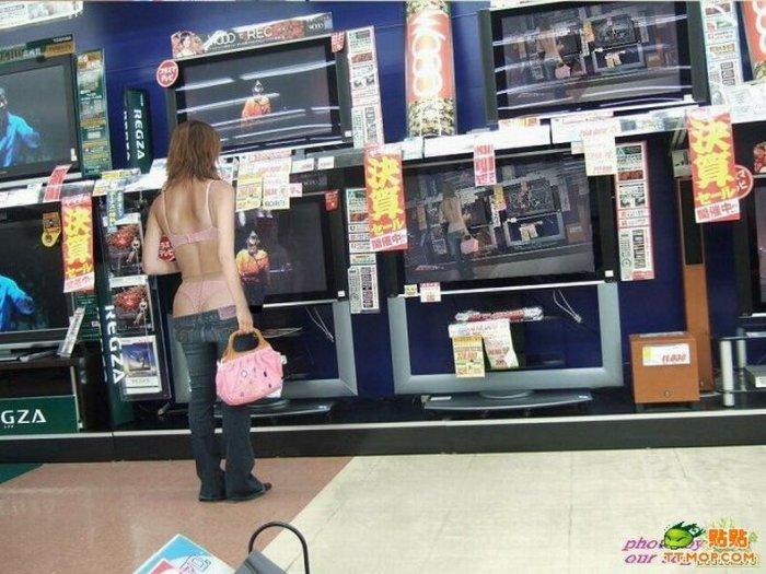 Новая мода у китайских девушек (8 фото)
