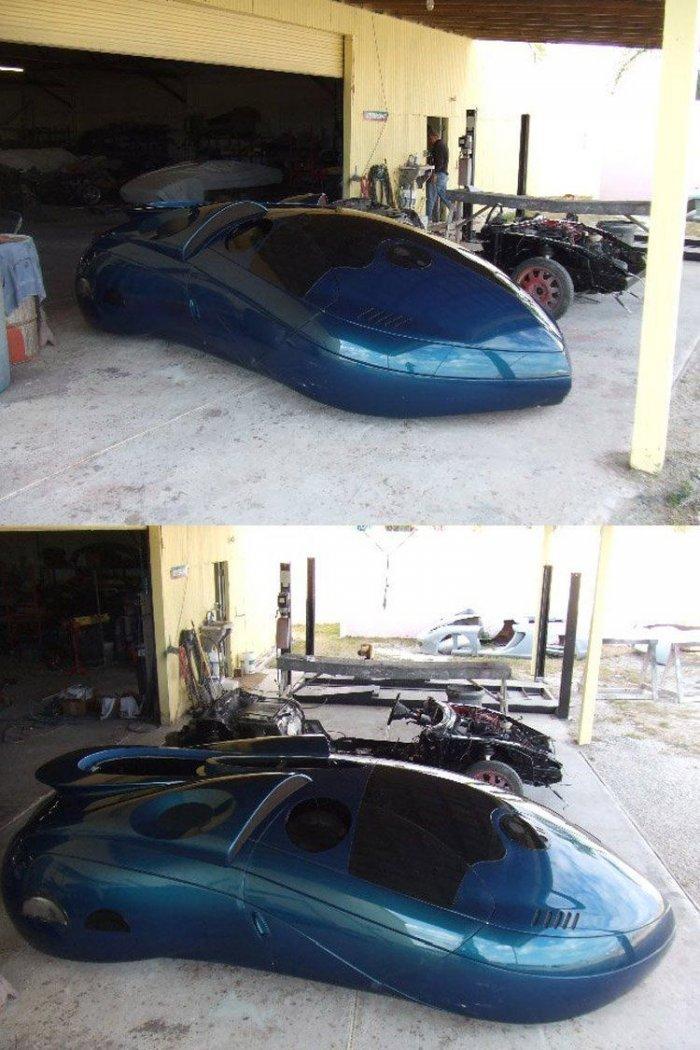 Ребята постороили необычный автомобиль (23 фото)