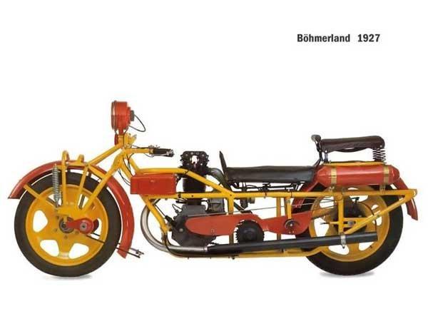 Мотоциклы прошлого (12 фото)
