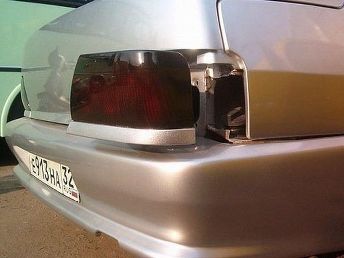 Замаскированный бензобак (3 фото)