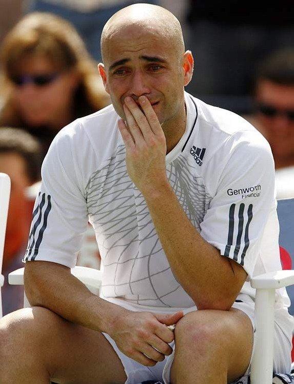 Чемпионы тоже плачут (15 фото)