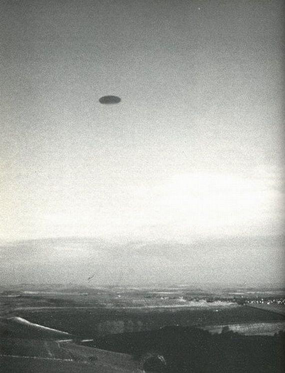Старые снимки НЛО (15 фото)
