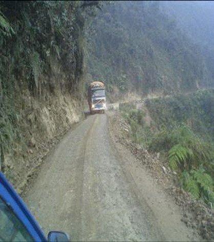 Дороги в Боливии (20 фото)