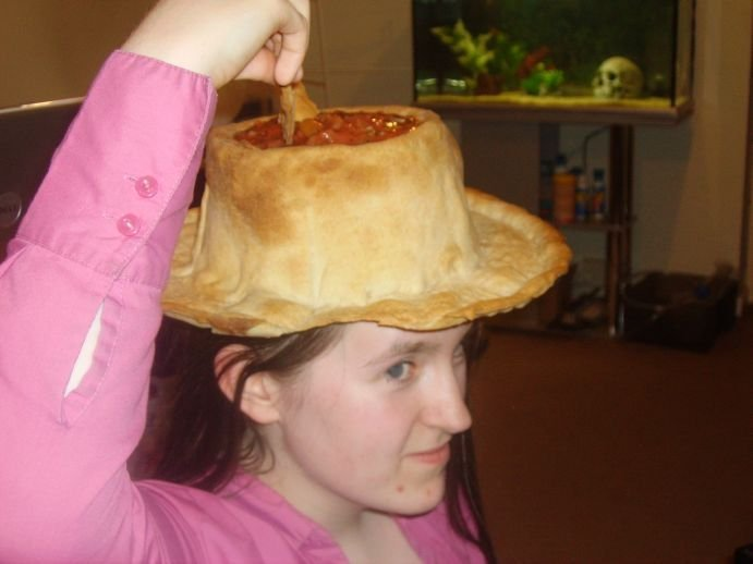 Съедобная шляпа (10 фото)