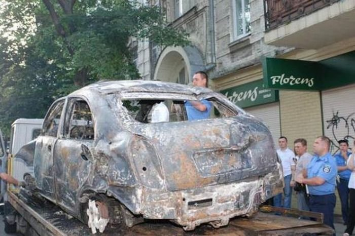 Страшная авария в Киеве (6 фото)