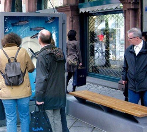 Отличная реклама рыбного ресторана (4 фото)