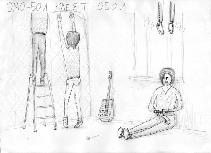 Прикольные рисунки (20 фото)