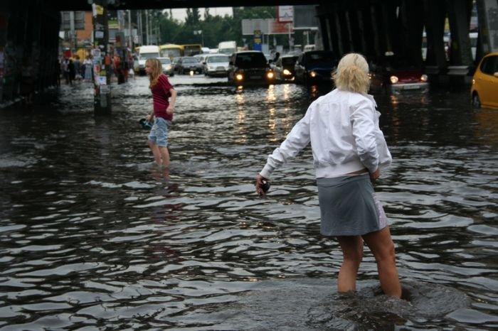 Киев затопило (42 фото)