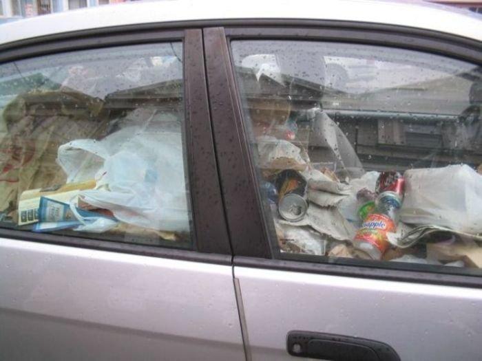 Помойки на колесах (27 фото)