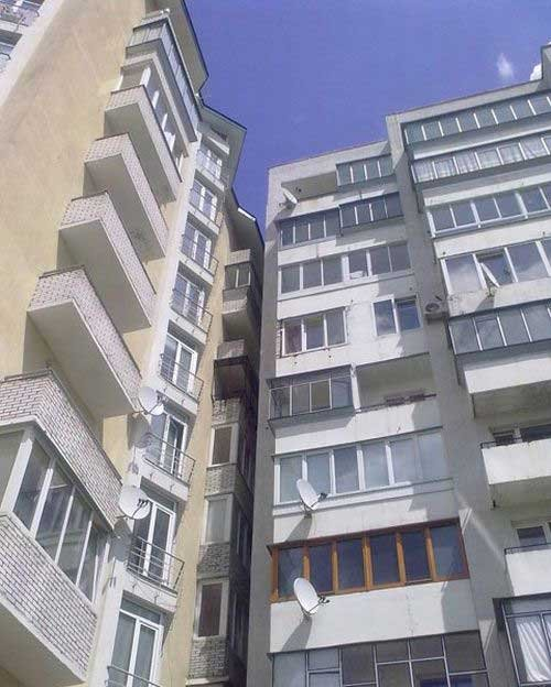 Крутой вид с балкона (4 фото)